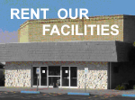 Rent Our Facilities